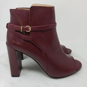 Banana Republic Gayle 8.5M Black Rose Ankle Boots